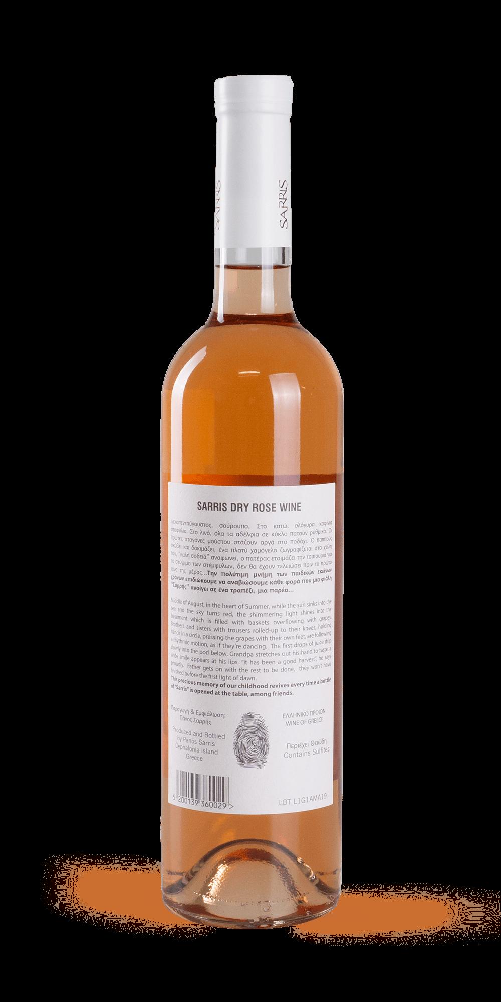 Rose 2019 - Sarris Winery