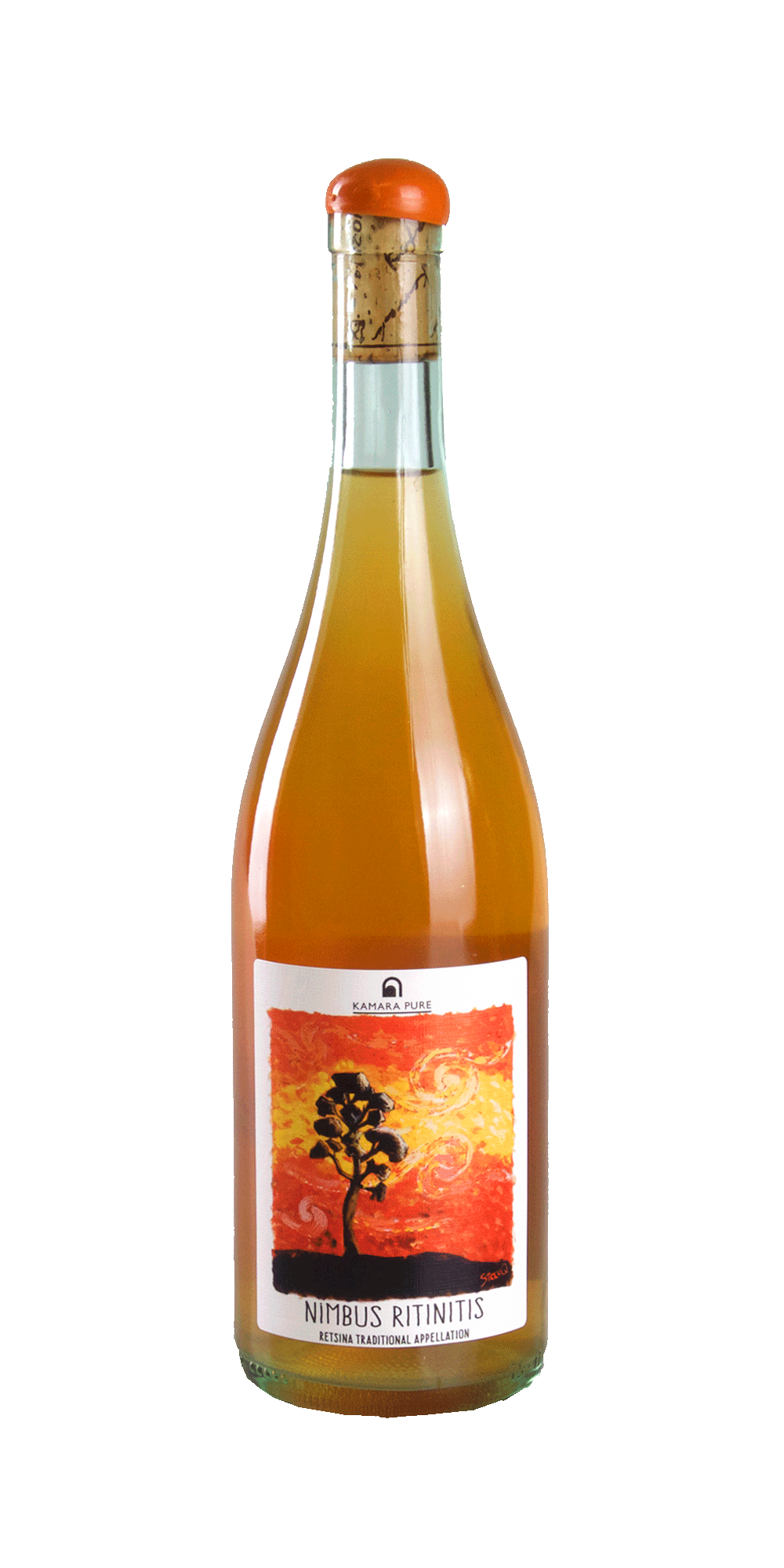 Nimbus Ritinitis Retsina Orange BIO 2020 - Kamara Winery