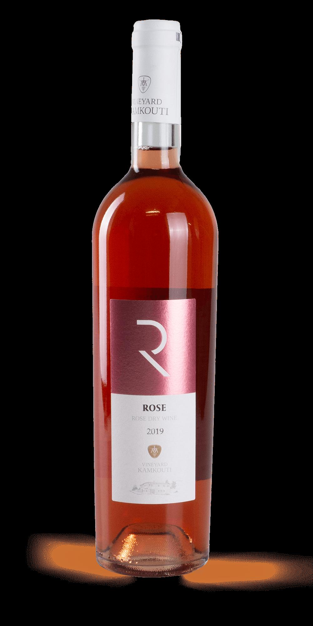 Rose 2019 - Kamkoutis Vineyards