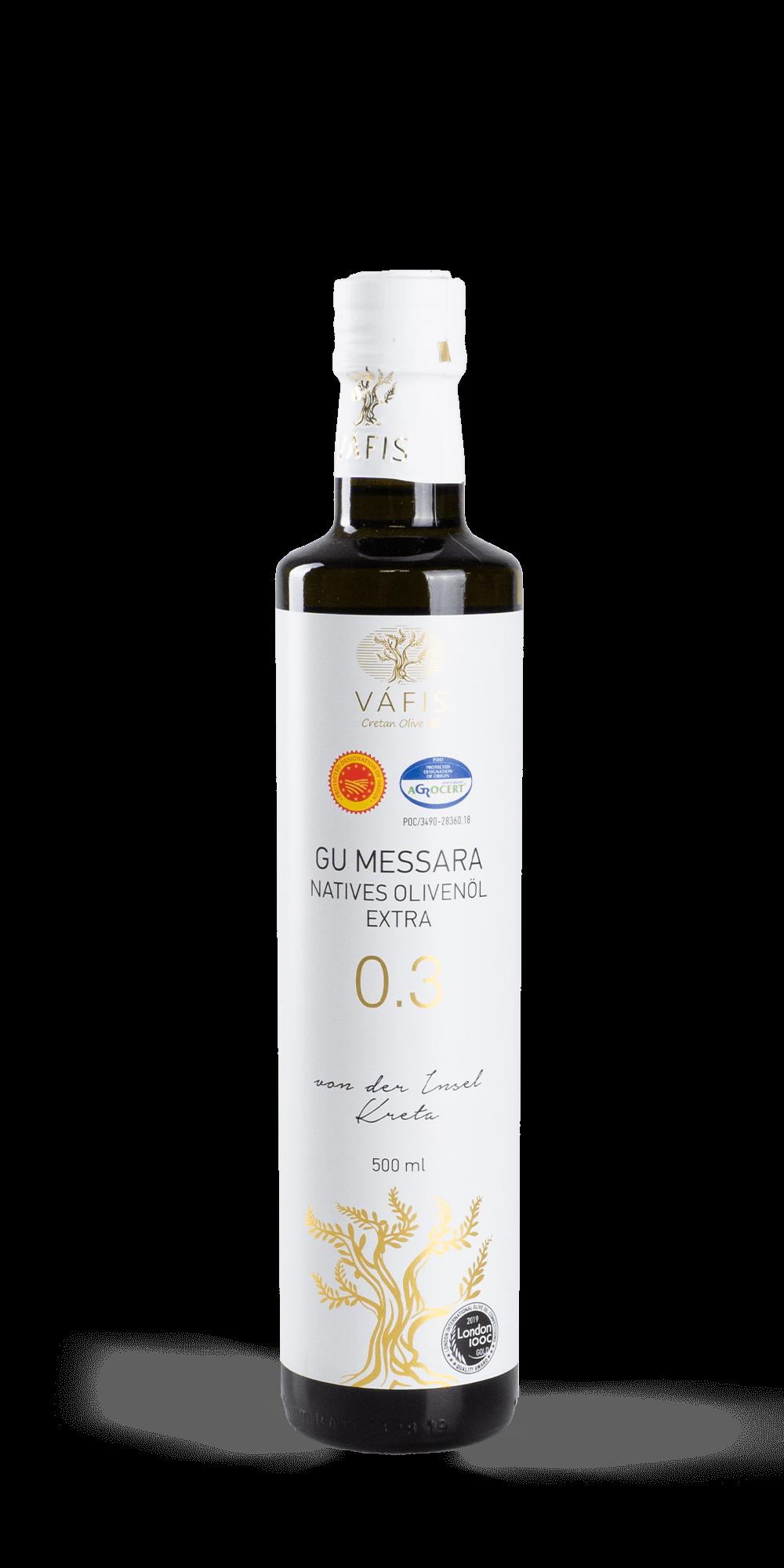 Vafis Olivenöl 0,5 l
