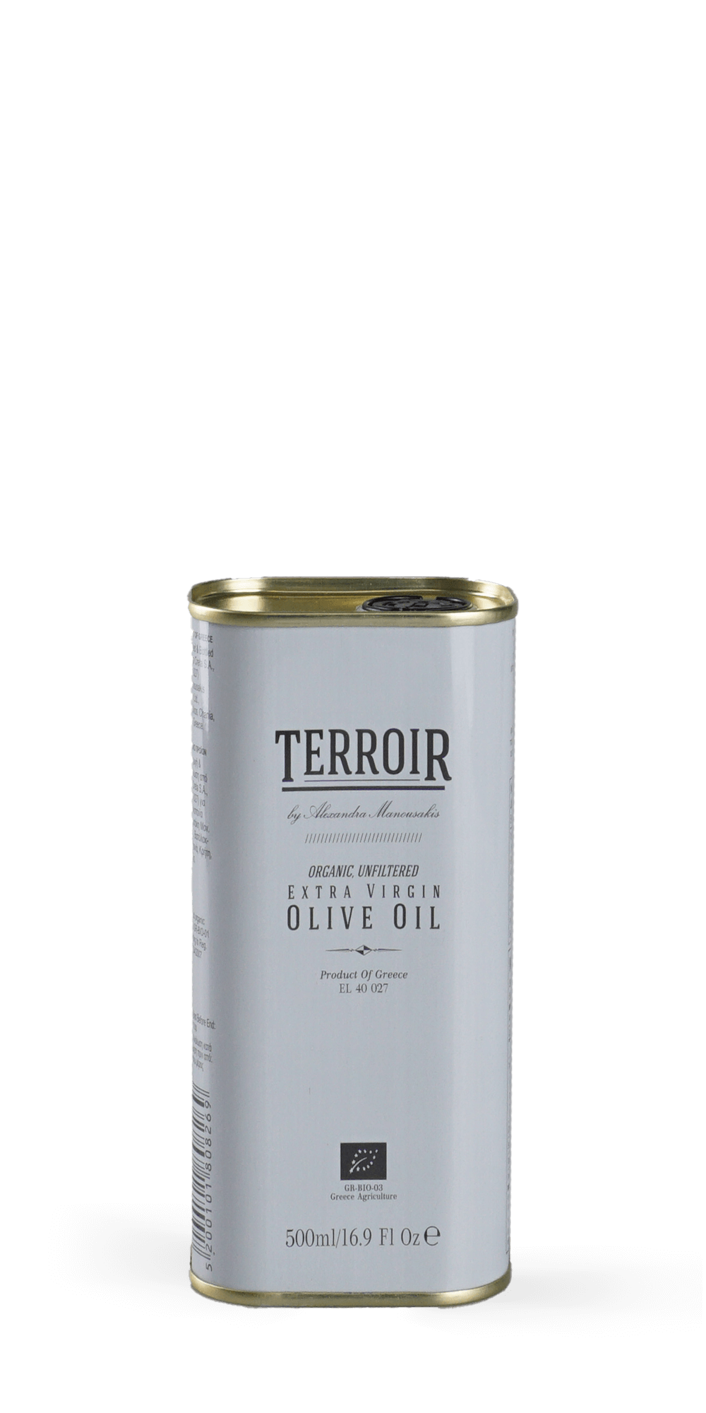Terroir Olivenöl unfiltriert  BIO 0,5 l