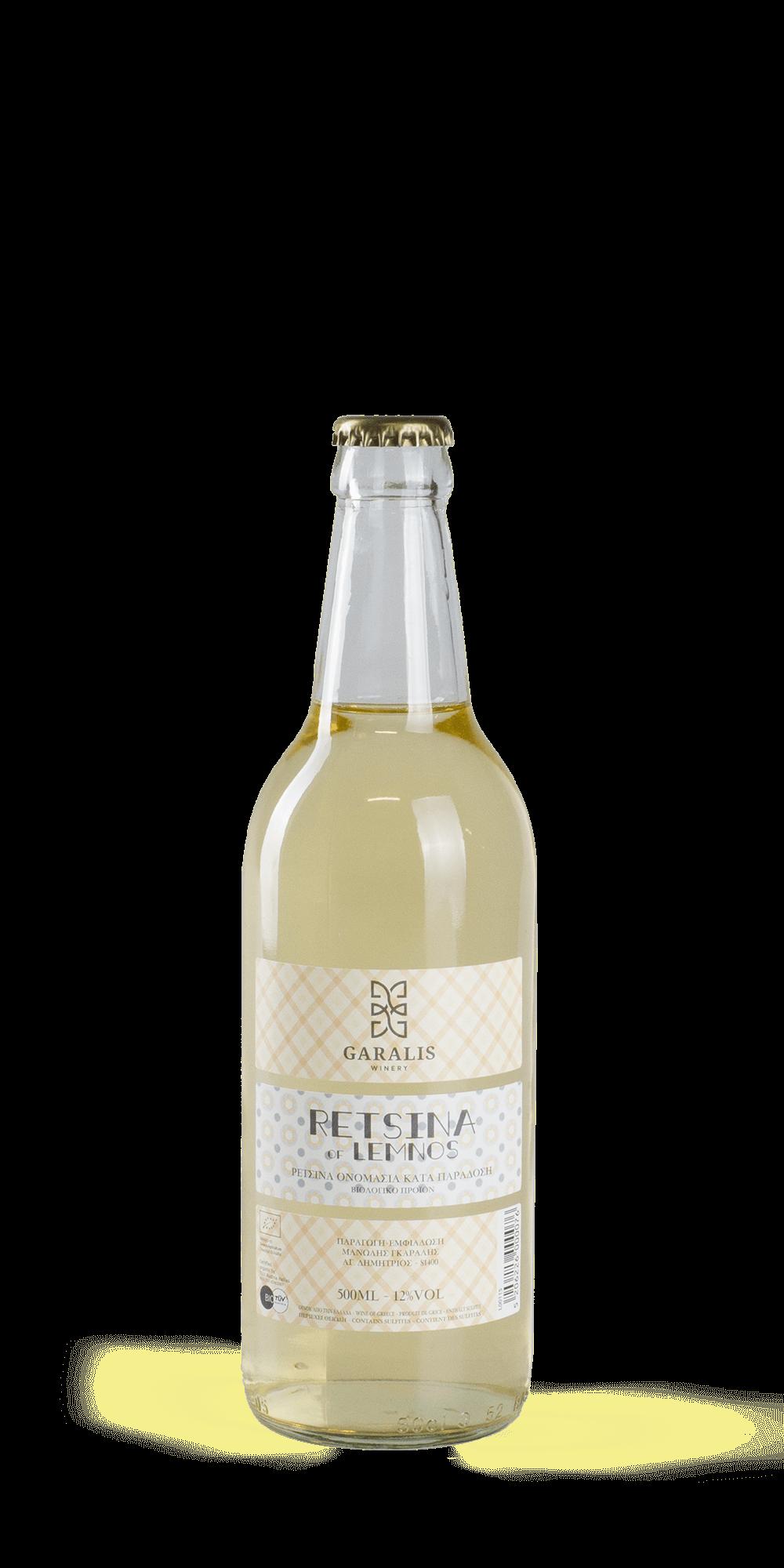 Retsina BIO - Garalis Winery