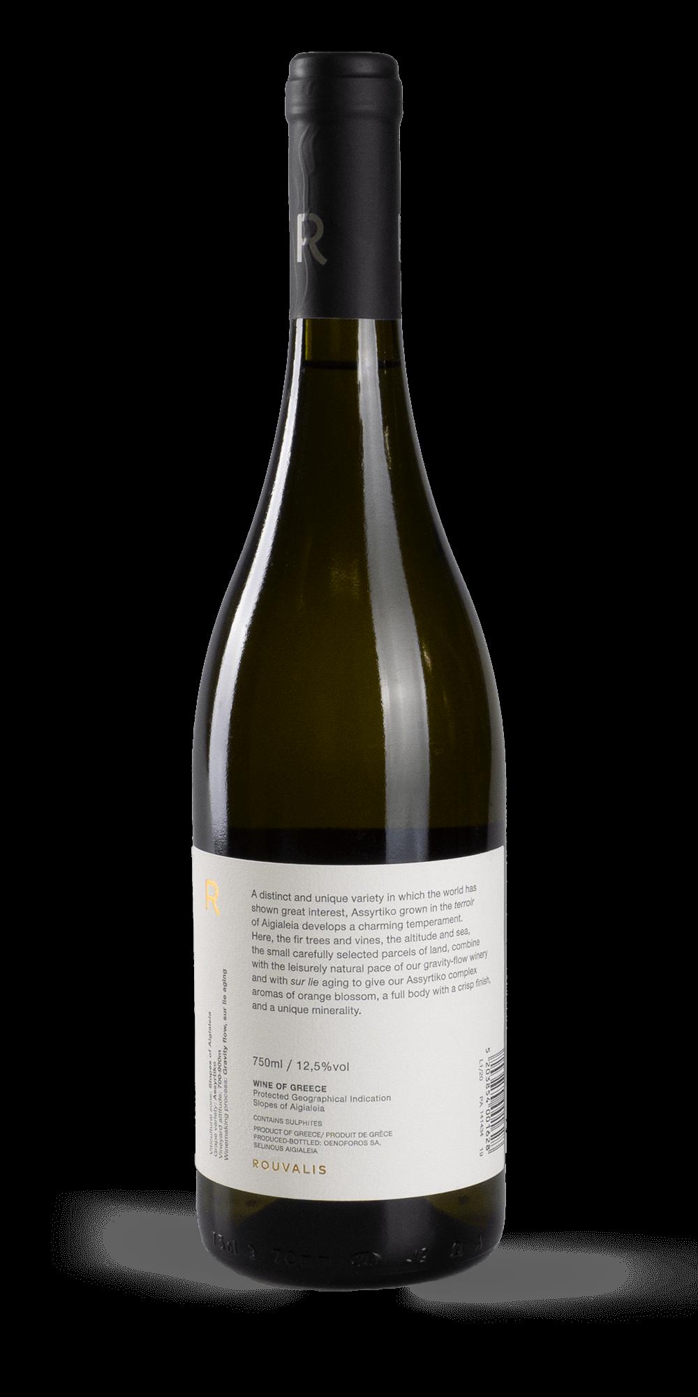Assyrtiko 2019 - Rouvalis Winery