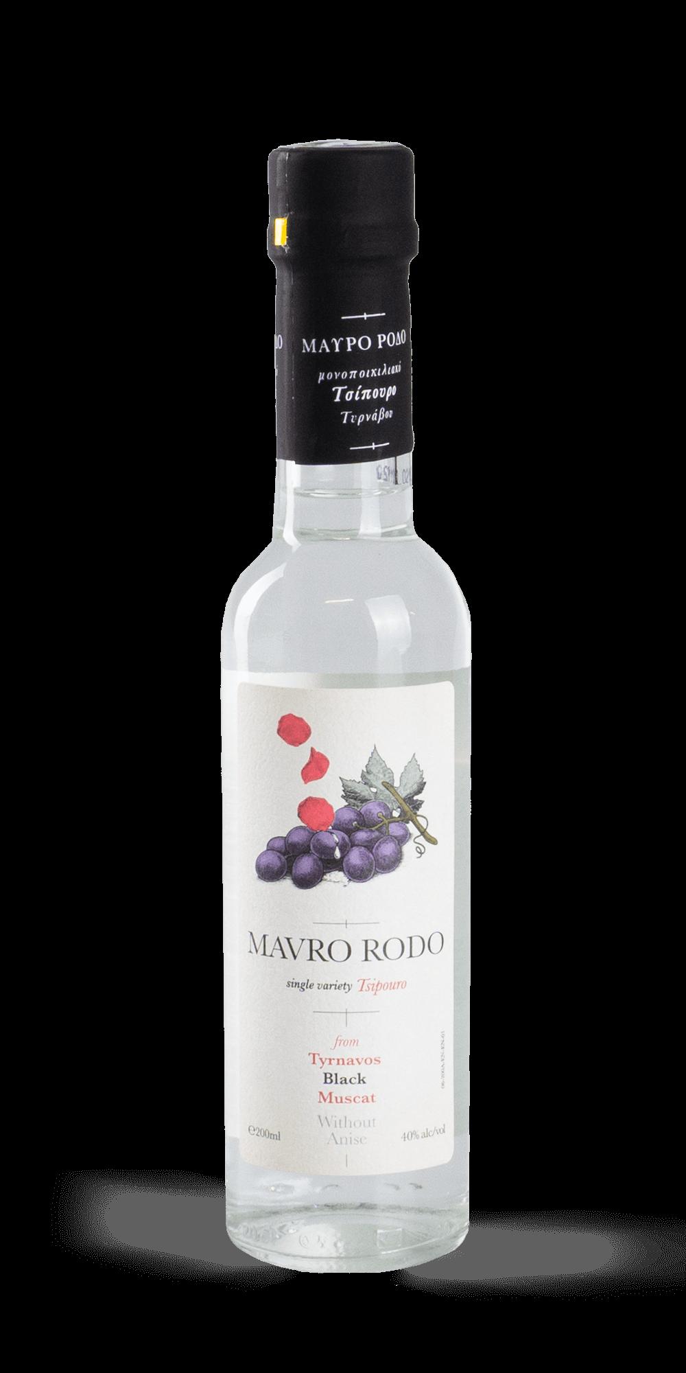 Tsipouro Mavro Rodo 0,2 l